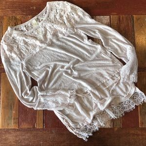 Free People | New Romantics Lace Tunic